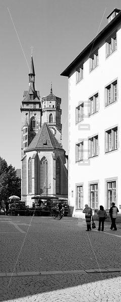 Stiftskirche und Alte Kanzlei